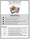 Grade 3 Multiplication & Division - Multiple Choice Assessment