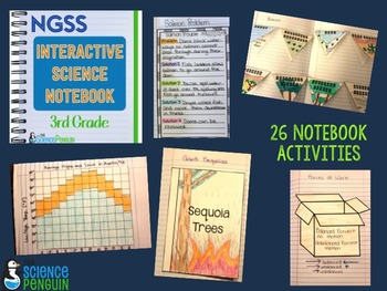 3rd Grade NGSS Interactive Science Notebook