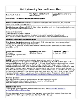 Grade 3 NGSS Unit 7 - Hazardous Weather