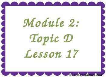 Grade 3 NYS Math Module 2: Lesson 17 Power Point
