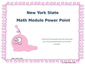 Grade 3 NYS Math Module 3: Lesson 11 Power Point