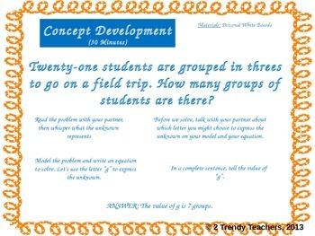 Grade 3 NYS Math Module 3: Lesson 3 Power Point