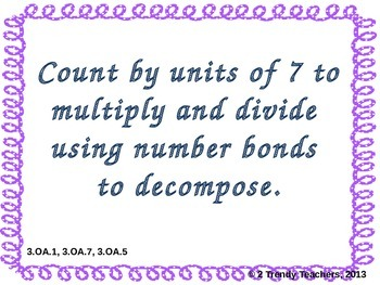 Grade 3 NYS Math Module 3: Lesson 5 Power Point