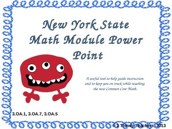 Grade 3 NYS Math Module 3: Lesson 6 Power Point