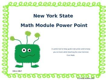 Grade 3 NYS Math Module 3: Lesson 9 Power Point
