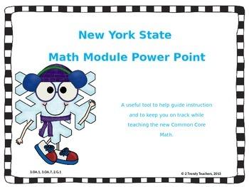 Grade 3 NYS Math Module 4: Lesson 1 Power Point
