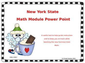 Grade 3 NYS Math Module 4: Lesson 2 Power Point