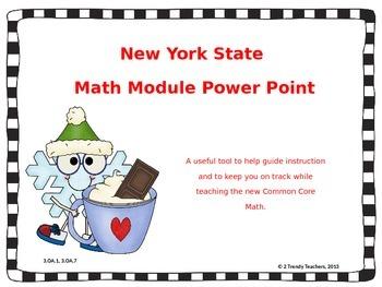 Grade 3 NYS Math Module 4: Lesson 2 Power Point