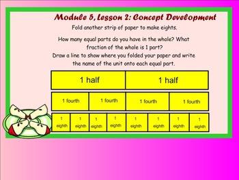 Grade 3 NYS Math Module 5 Lesson 2 SMART Notebook File