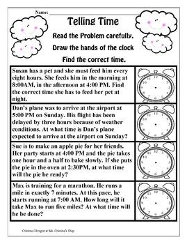 Grade 3 No Prep Math and Language Arts Activities