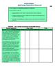 Grade 3 ONTARIO Science Expectations Checklist