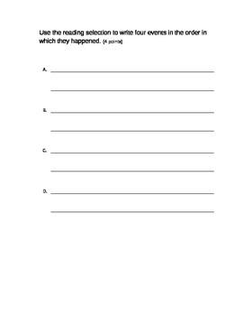 Grade 3 - Ohio Achievement Assessment (OAA) Prompts