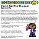 Grade 3 Ontario Language Report Card Comments