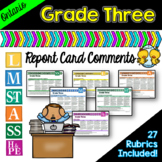 Grade 3 Ontario Report Card Comments