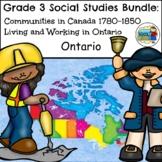 Grade 3 Ontario Social Studies Bundle