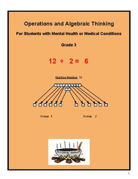 "Grade 3- ""Algebra and Learning to Share"" students w/ M H or Medical Conditions"