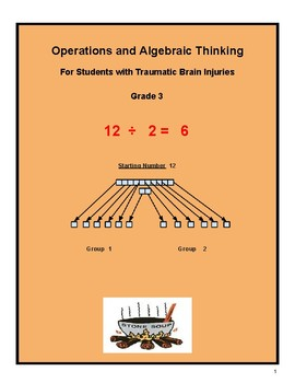 """Grade 3 """"Algebra and Learning How to Share"""" Students w/ Traumatic Brain Injuries"""