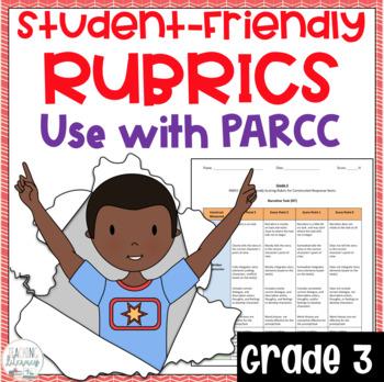 Grade 3 Student-Friendly PARCC Scoring Rubrics