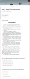 Grade 3 Passage Assessment Google Forms - Treasures Units 1-6