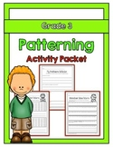 {Grade 3} Patterning Activity Packet