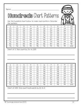 {Grade 3} Patterning Activity Packet