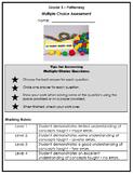 Grade 3 - Patterning & Algebra Multiple Choice Assessment