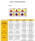 Grade 3 Patterning Unit Test
