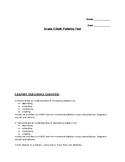 Grade 3 Patterns Test - Alberta Program of Studies