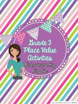 Grade 3 Ontario Place Value Activities