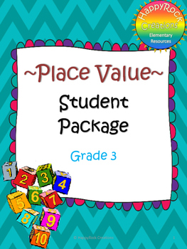 Grade 3 Place Value Package