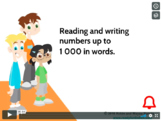 Grade 3:Math:Place Value,Round,Add&Sub:Read&Write Number t