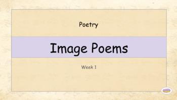 Grade 3: Poetry - Image Poems (Week 1 of 2)