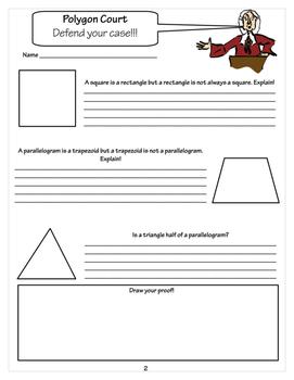 3rd Grade Polygons EXTENDS 3.G.1