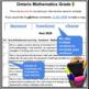 Report Card Comments - MATH - Ontario Grade 3