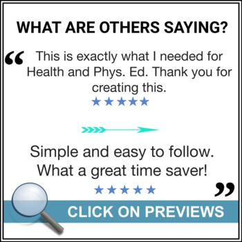 Report Card Comments - PHYSICAL AND HEALTH EDUCATION - Ontario Grade 3