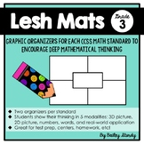 Grade 3 Math Problem Solving Graphic Organizers for every standard