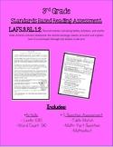 3rd Grade- RL 1.2 Standard Mini Assessment - RL.2 Recount & Central Message