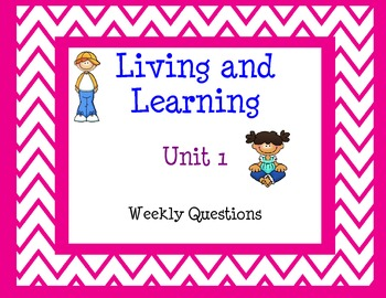 Grade 3 Reading Street (Common Core)-Unit 1 Weekly Questions