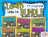 Grade 3 Reading Street SLEUTH Units 1-6 BUNDLE