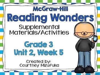 Reading Wonders Grade 3 {Unit 2, Week 5}