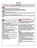 Grade 3 Ready Gen Curriculum Map Unit 1 Module A