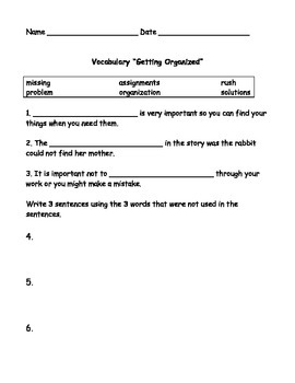 Grade 3 ReadyGen Unit 1 Sleuth Text Vocabulary and Quizzes
