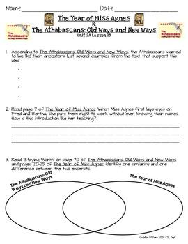 Grade 3 ReadyGen Unit 2 Module A Comprehension & Reading A