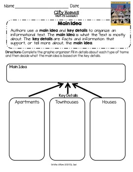2014 Grade 3 ReadyGen Unit 2 Module B Comprehension Reading Analysis Worksheets