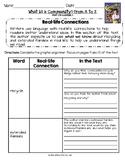 2014 Grade 3 ReadyGen Unit 2 Module B Comprehension Reading Analysis Worksheets