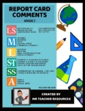 Grade 3 Report Card Comments and Learning Skills