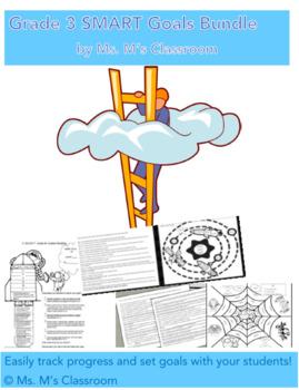 Grade 3 SMART Goals Bundle