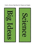 Grade 3 Science: Big Ideas: New BC Curriculum