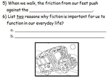 Grade 3 Science  Friction  by Ms Hamilton  Teachers Pay Teachers