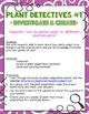 Grade 3 Science Inquiry Centres: Plants